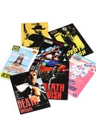 Deathwish VHS Wasteland Stickers 7 Pack