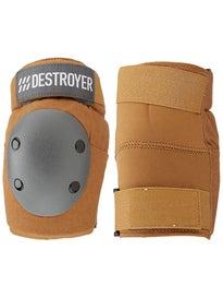 Destroyer Amateur Elbow Pads  Brown