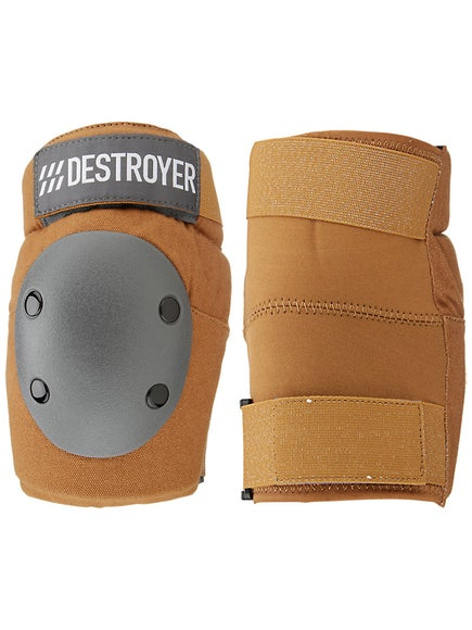 Destroyer Amateur Elbow Pads  Brown