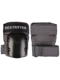 Destroyer Recreational Elbow Pads  Grey/Black