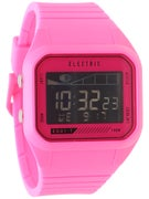 Electric ED01 Tide PU Digital Watch  Bright Pink