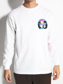 Enjoi Airbrushed Panda Longsleeve T-Shirt