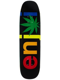 Enjoi Chronic Logo Rasta Deck  8.5 x 32