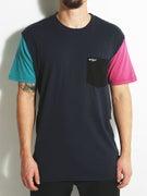 Enjoi Color Sleeve Custom Pocket T-Shirt