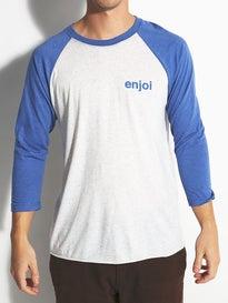 Enjoi Helvetica Raglan 3/4 Sleeve T-Shirt