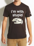 Enjoi I'm With Stupid Premium T-Shirt