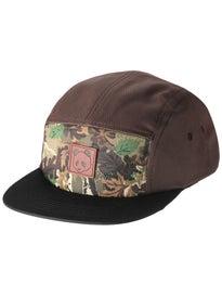 Enjoi Leather Patch 5 Panel Hat