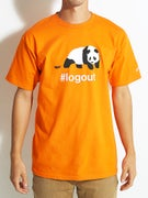 Enjoi Logout Panda Premium T-Shirt