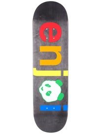 Enjoi Spectrum No Brainer Black Deck  8.25 x 31.7