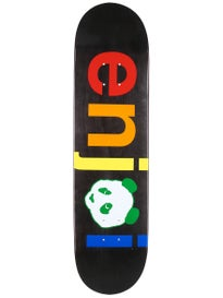 Enjoi Spectrum No Brainer Black Deck  8.0 x 31.7