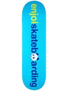 Enjoi No Brainer v2 Blue Deck  8.375 x 31.8
