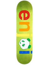 Enjoi Spectrum No Brainer Green Deck  7.75 x 31.1
