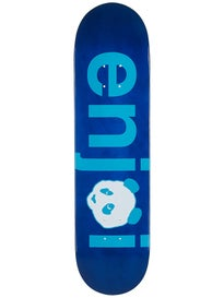 Enjoi No Brainer Sprayed Blue Deck  8.0 x 31.7