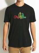Enjoi Neon Rasta Panda Premium T-Shirt