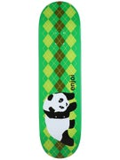 Enjoi Original Panda Argyle Green Deck  8.5 x 32