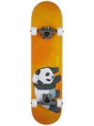 Enjoi Panda Animal Orange Complete  7.75 x 31.1