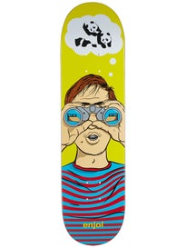 Enjoi Peeper Yellow Deck  8.25 x 31.7