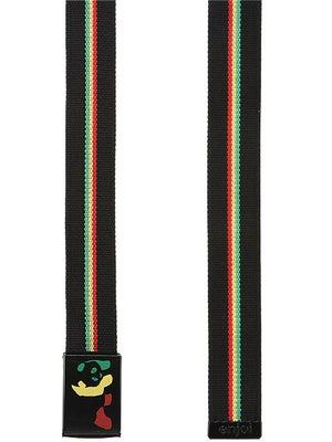 Enjoi Rasta Panda Web Belt Black Adjustable