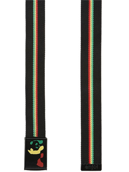 Enjoi Rasta Panda Web Belt