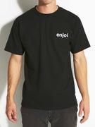 Enjoi Small Helvetica Logo T-Shirt