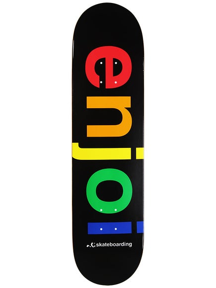 Enjoi Spectrum Black Deck 8.0 x 31.7 57f7428bda8