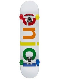 Enjoi Spectrum White Complete  7.5 x 31