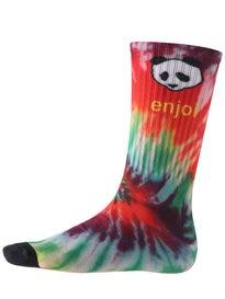 Enjoi Tie Dye Crew Sock