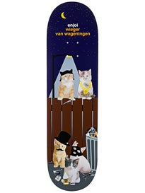 Enjoi Wieger Alley Cats Deck  8.375 x 31.8