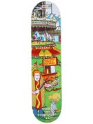 Enjoi Wieger Carnival Deck  7.75 x 31.2