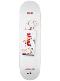 Enjoi Wieger White Bread Deck  8.375 x 31.8