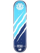 Element Nyjah Silhouette Deck 7.75 x 31.25