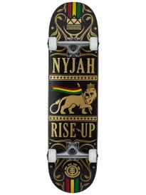 Element Nyjah Red Rise Up Complete 7.875 x 31.6