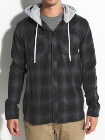 Element Turner Hooded Flannel Shirt