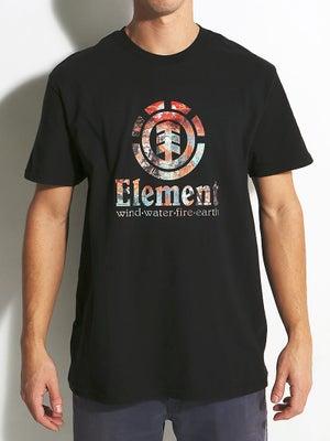 Element Vertical Tee Black SM