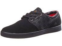 Emerica x Psockadelic Figgy Shoes Black/Black/Print