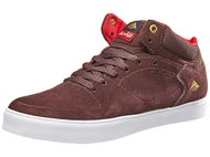 Emerica x Chocolate Hsu G6 Shoes Brown/White