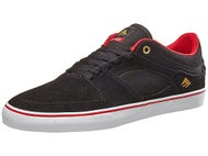 Emerica x Chocolate Hsu Low Vulc Shoes Black/Red/White