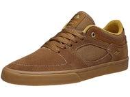 Emerica Hsu G6 Low Vulc Shoes Brown/Gum
