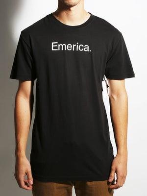 Emerica Pure 12.1 Tee SM Black