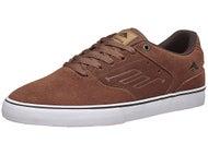 Emerica Reynolds Low Vulc Shoes Brown/White/Gum