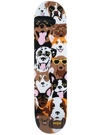 Enjoi Dog Collage Deck  7.75 x 31.1