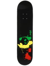 Enjoi Rasta Panda Splatter Deck 7.5 x 31.1