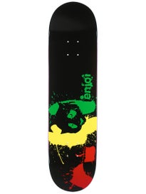 Enjoi Rasta Panda Splatter Deck 8.0 x 31.7