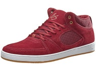 Es Accel Slim Mid Shoes Burgundy