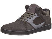 Es Accel Slim Mid Shoes Dark Grey/Black