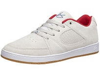 Es Accel Slim Shoes White/Red