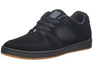 Es Accel Slim Shoes Black/Black/Gum
