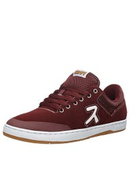Etnies x Hook Ups Marana Shoes Burgundy