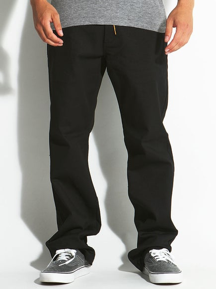Expedition One Drifter Chino Pants  Black