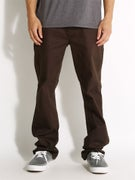 Expedition One Drifter Chino Pants  Dark Brown